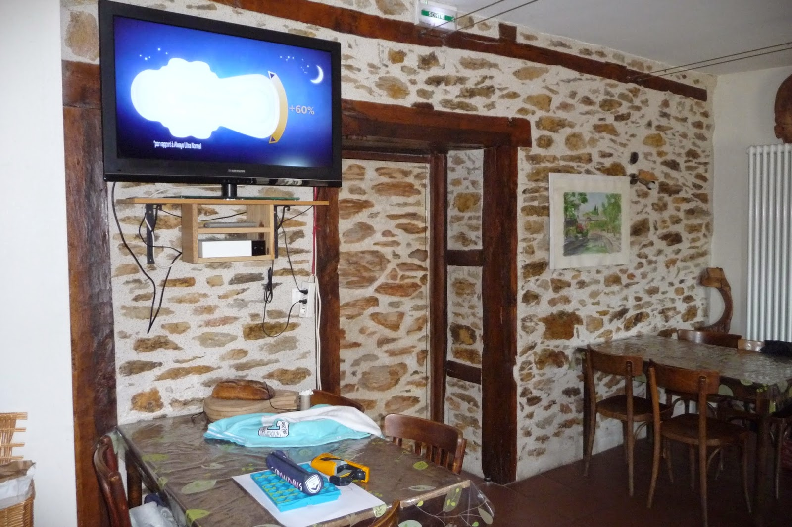 Peintre en d cor porte en faux appareillage rustique for Decoration fausse porte