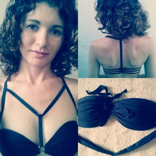 strappy bra diy