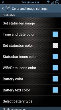3Minit Settings S4 android apk - Screenshoot