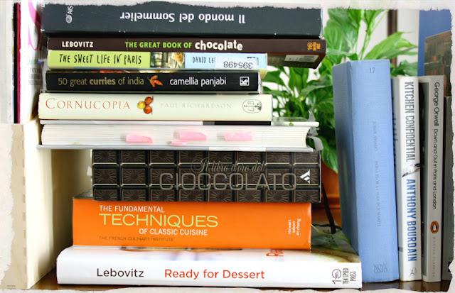 libri di cibo e vino