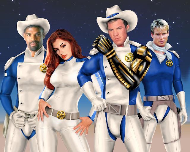Galaxy Rangers por ChillyPlasma