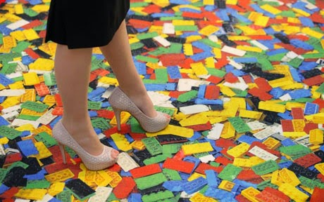 Stepping on Legos and Barbies