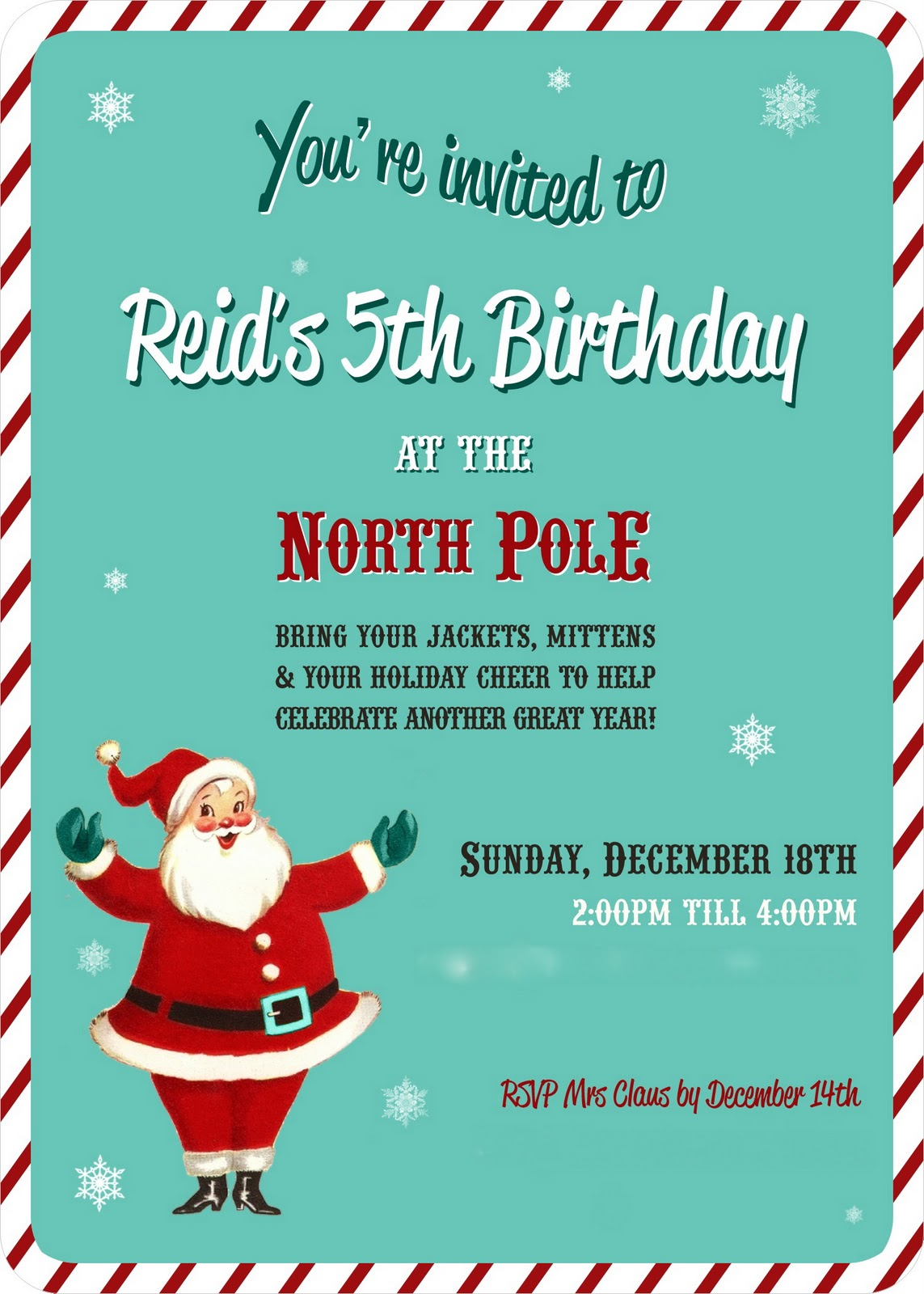 Raising Reid: I Love You to the North Pole and Back!!