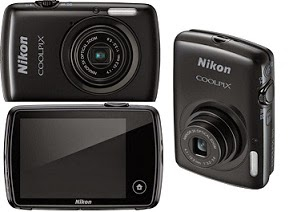 Killing Price: Flat 46% Off on Nikon Coolpix S01 Point & Shoot Camera (Black) just for Rs.3999 Only @ Flipkart