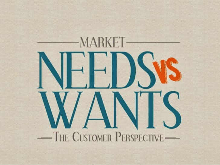 Buyer Behavior: Needs vs. Wants