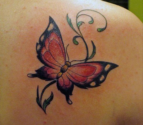 Tattoos of Butterflies