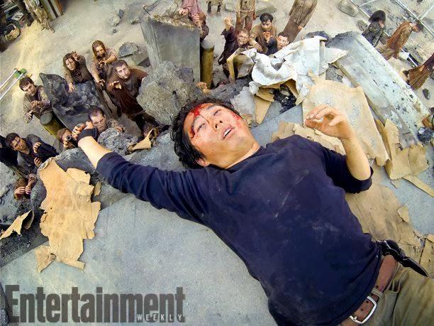 The Walking Dead 4x09 en EW - Glenn