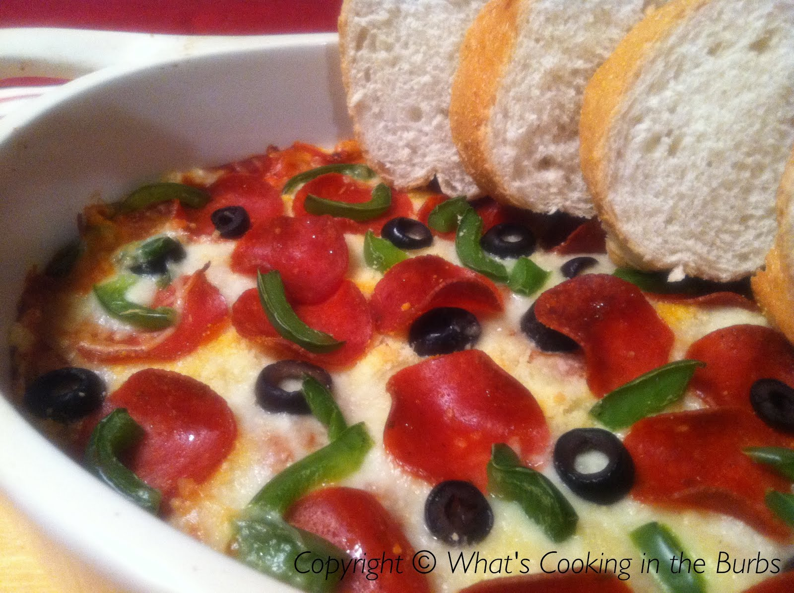 What's Cooking in the Burbs: Hot Pizza Dip