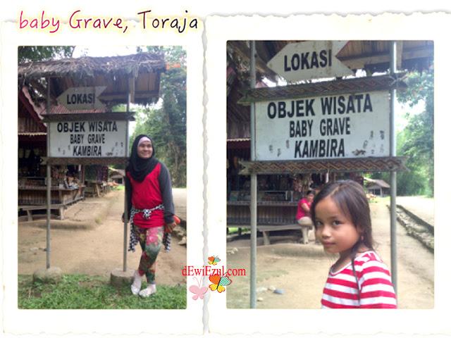 wisata wajib di Toraja,jalan jalan ke baby grave kuburan bay