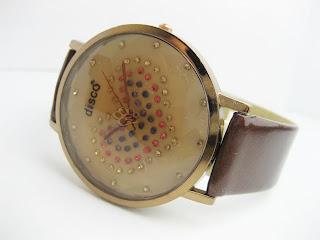jam tangan wanita murah grosir fashion disco kulit stylengo
