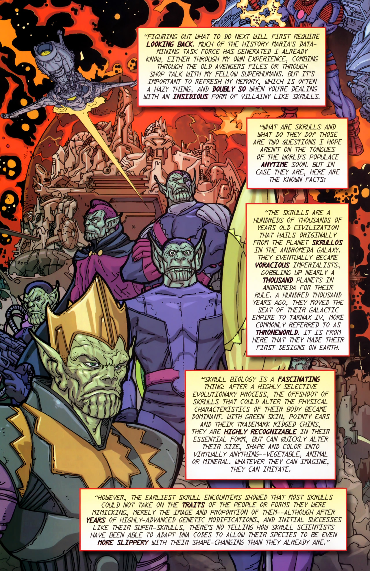 Read online Secret Invasion: The Infiltration comic -  Issue #11 - 8