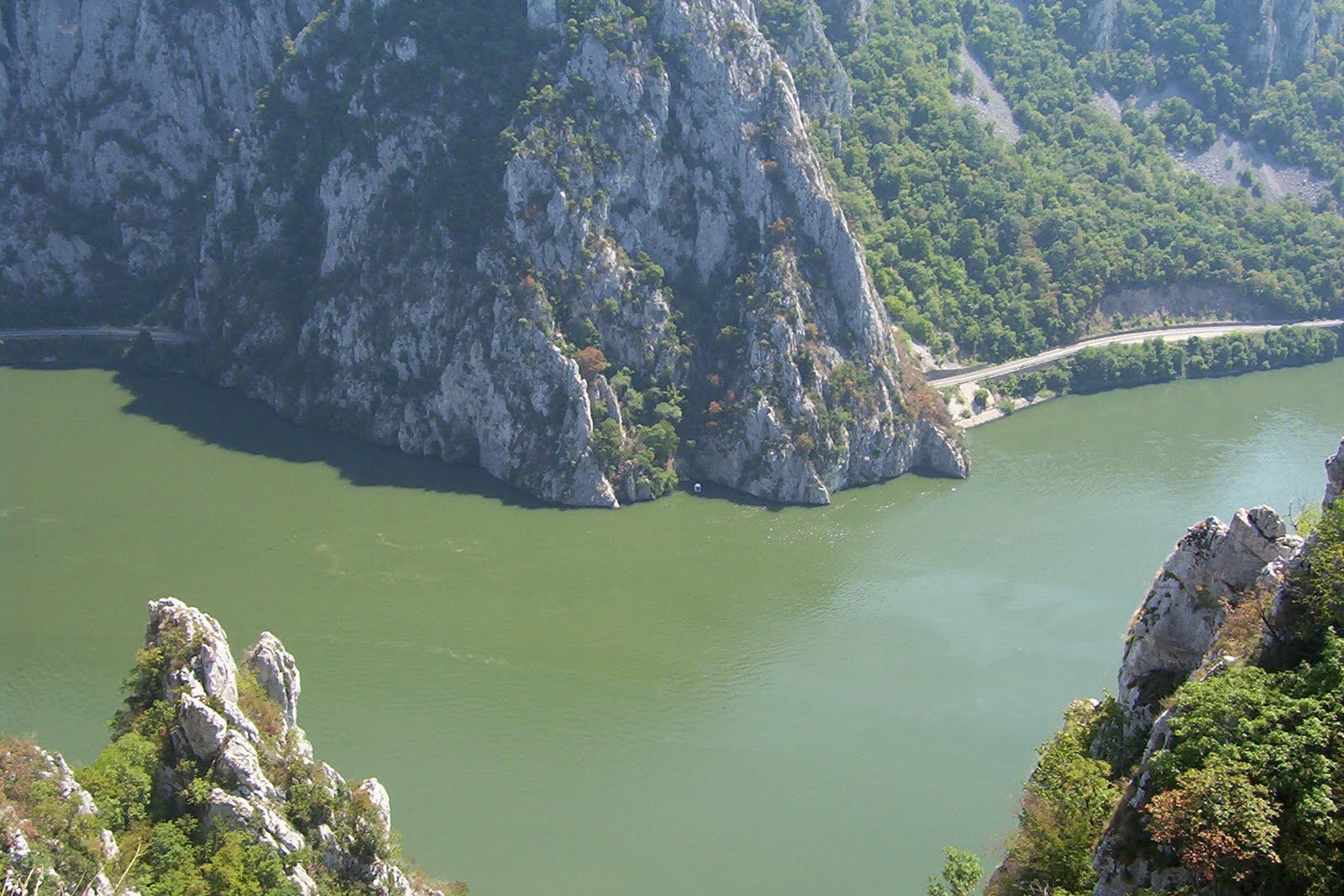 Vedere a Cazanelor Dunarii