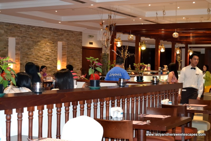 Filipino warmth and ambiance in Intramuros Restaurant