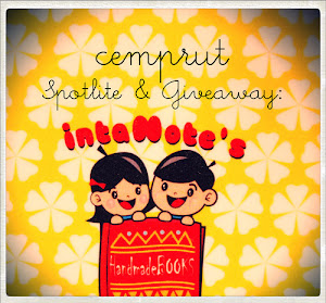 Cemprut Spotlite & Give Away: Inta Notes's