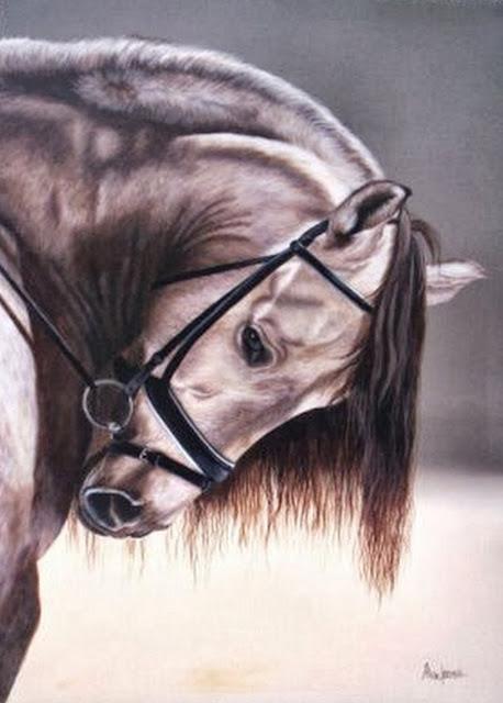 caballo-dibujo-oleo