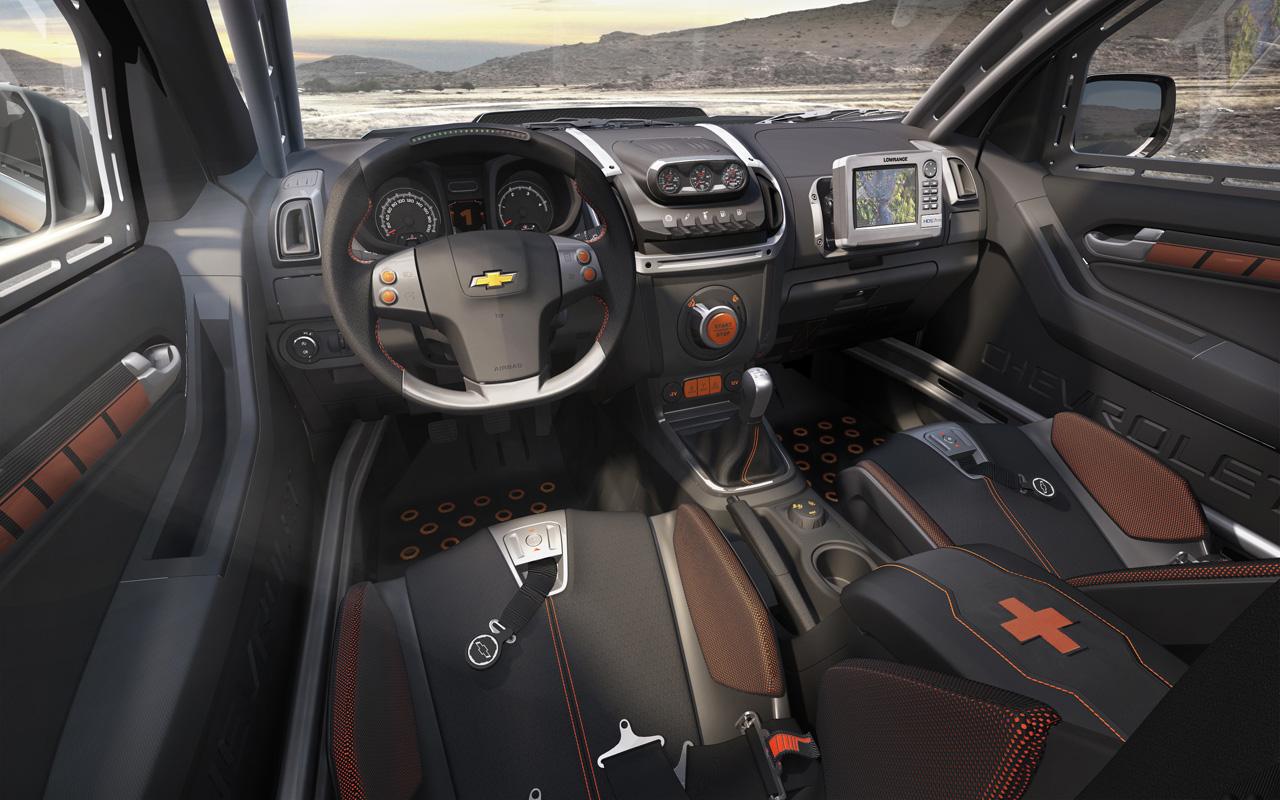2013 Chevrolet Colorado Interior
