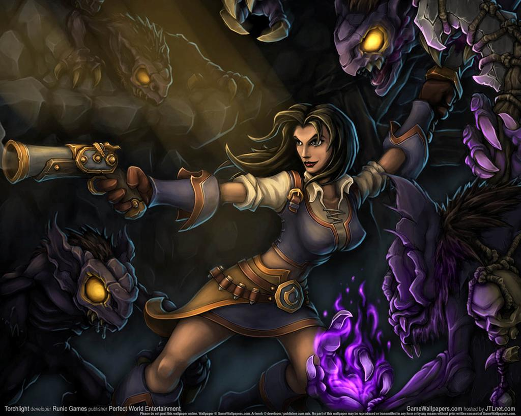 Torchlight HD & Widescreen Wallpaper 0.0745703896958085