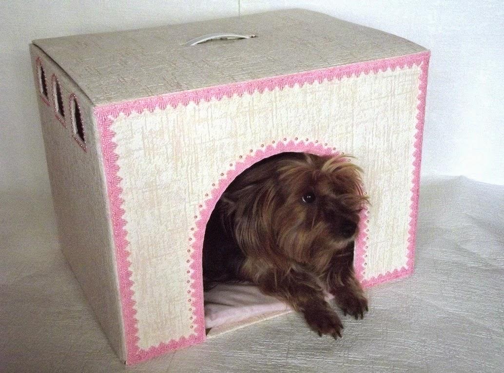 будка для собак из подручных материалов