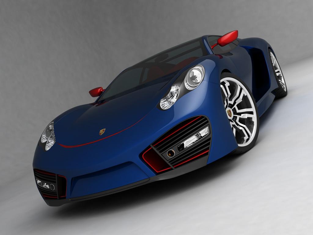 Hot Wheels Porsche Supercar Concept Azee