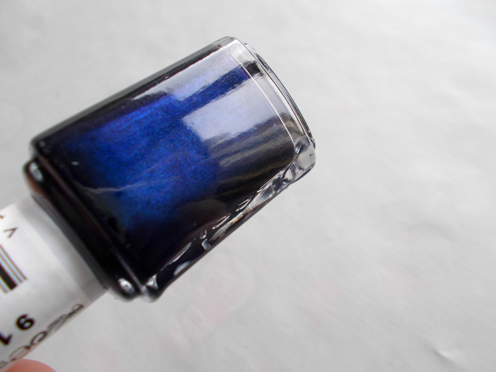 Essie midnight cami nail polish blue navy shimmer