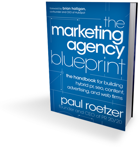 Aatifs social media and pr blog book review the marketing book review the marketing agency blueprint the handbook for building hybrid pr seo content advertising and web firms malvernweather Image collections