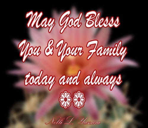 God Bless U...