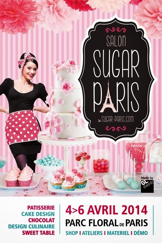 Les p tisseries d 39 lodie v nement le salon sugar paris for Salon uv paris