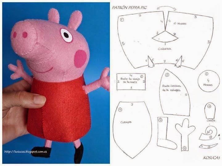 Свинка Пеппа сделано своими руками