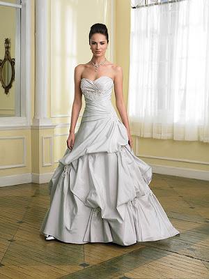 Gorgeous wedding dress gorgeous linen wedding dress for Cloth for wedding dresses