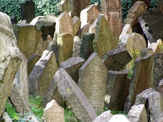 Praga, vecchio cimitero ebraico