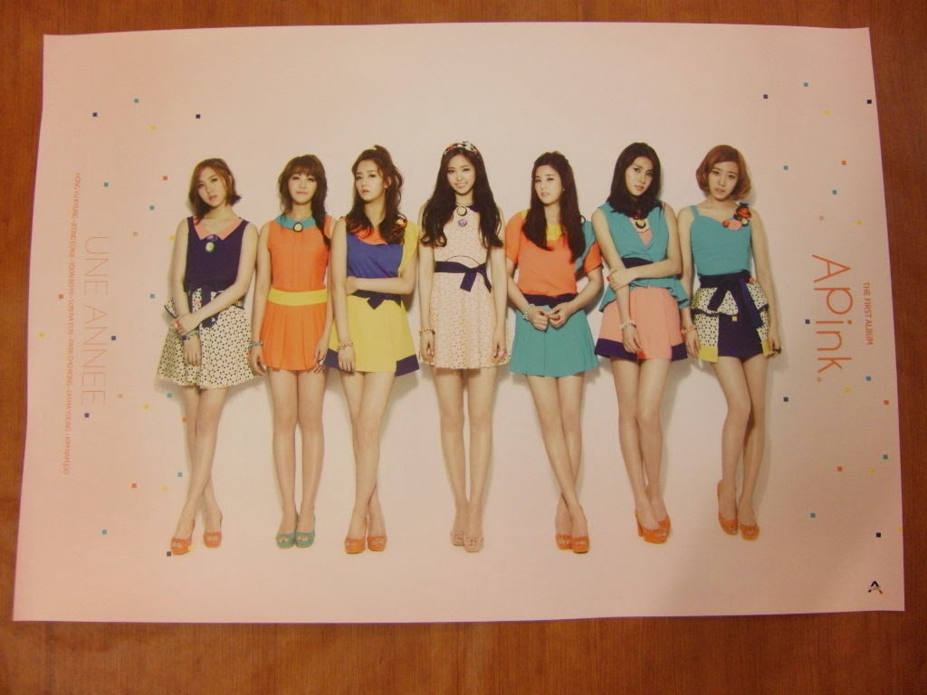 APINK - Une Annee [OFFICIAL] POSTER K-POP *NEW*