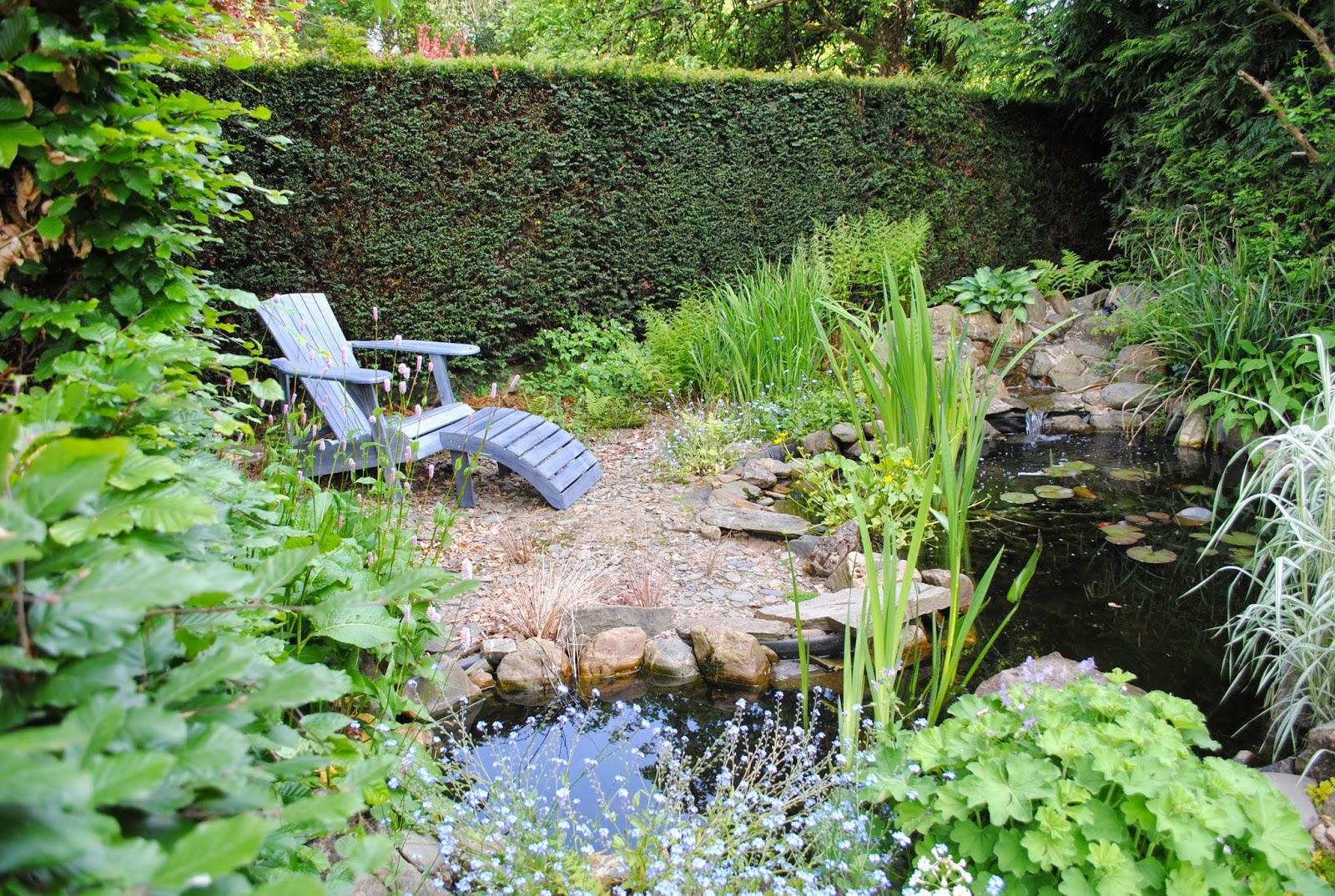 La passion d 39 anne marie le jardin en mai - Faire une mare dans son jardin ...