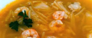 Receta Sopa de Merluza y Papas