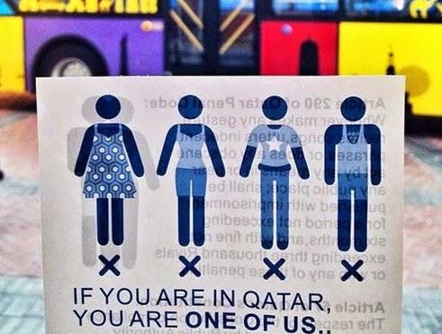 Kampanye pakaian sopan Qatar