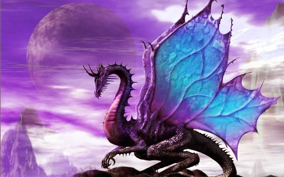 Il Rifugio degli Elfi: Draghi Viola