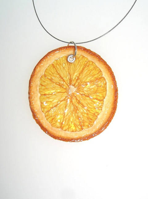 real fruit jewelry
