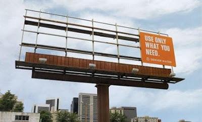 Affichage, street marketing, eau potable, écologie