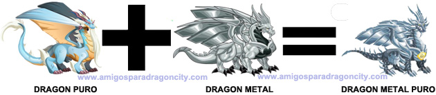 como sacar el dragon metal puro en dragon city