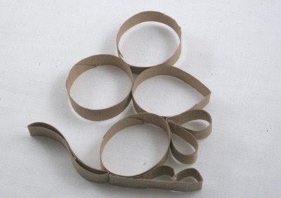 Des souris en rouleau de papier toilette madame r - Que peut on faire avec des rouleaux de papier toilette ...