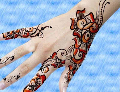 mehndi design for kids