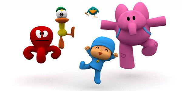 Pocoyo y sus amigos