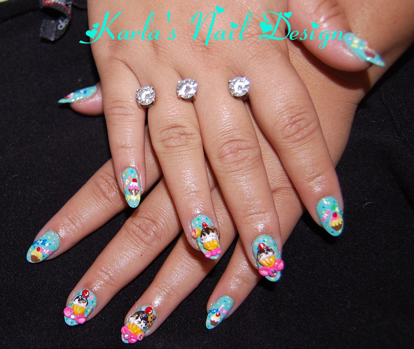 Originail Kolors 3d Nail Designs