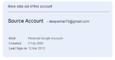 find Google Account Creation Date