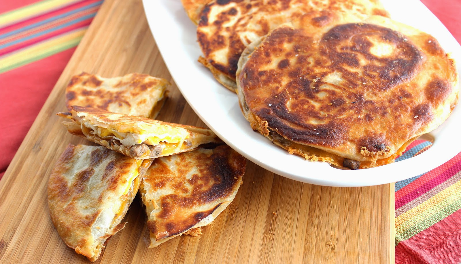 Sausage and Egg Quesadilla Recipe