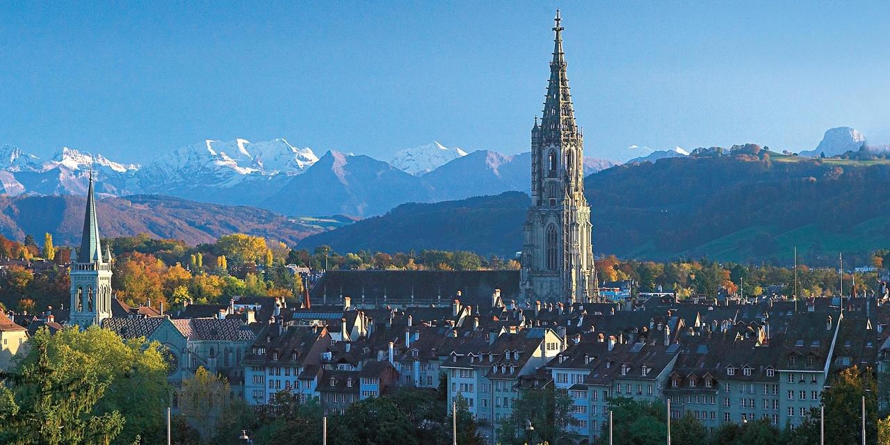 Bern Switzerland  city images : alps snow city capital bern switzerland panorama view minster berna ...