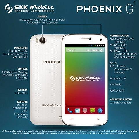Phoenix G1, yeni akıllı telefon