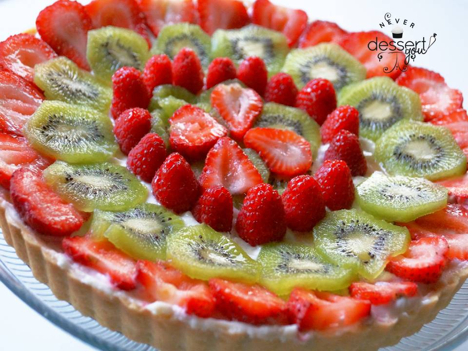 healthy fruit desert fruit tart