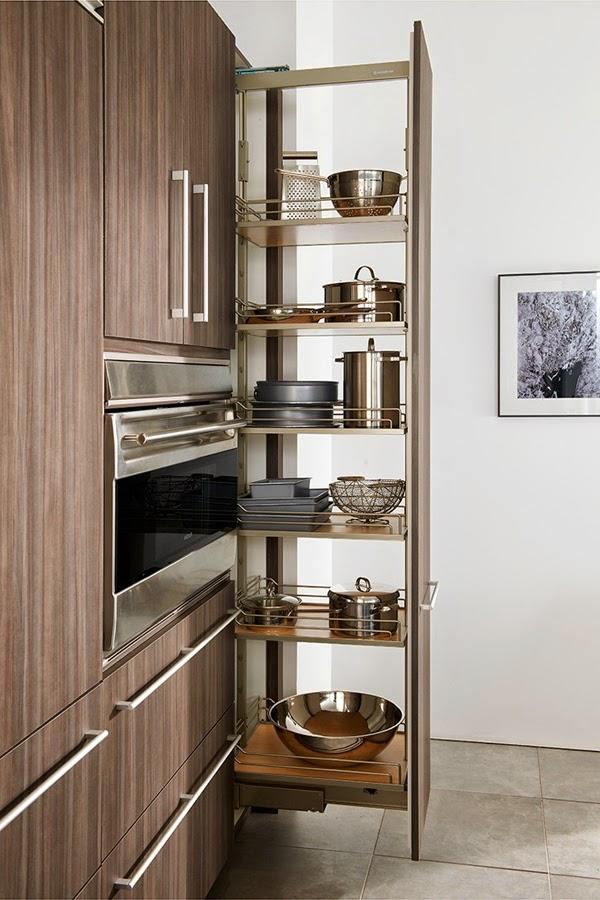 Armarios para ahorrar el espacio en cocinas peque as cocina y muebles - Aprovechar cocinas pequenas ...