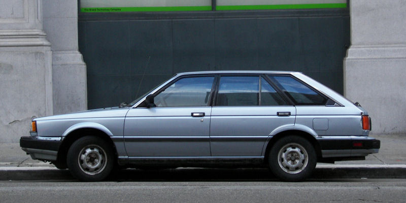 1987 Nissan Sentra Wagon Pictures to Pin on Pinterest  PinsDaddy