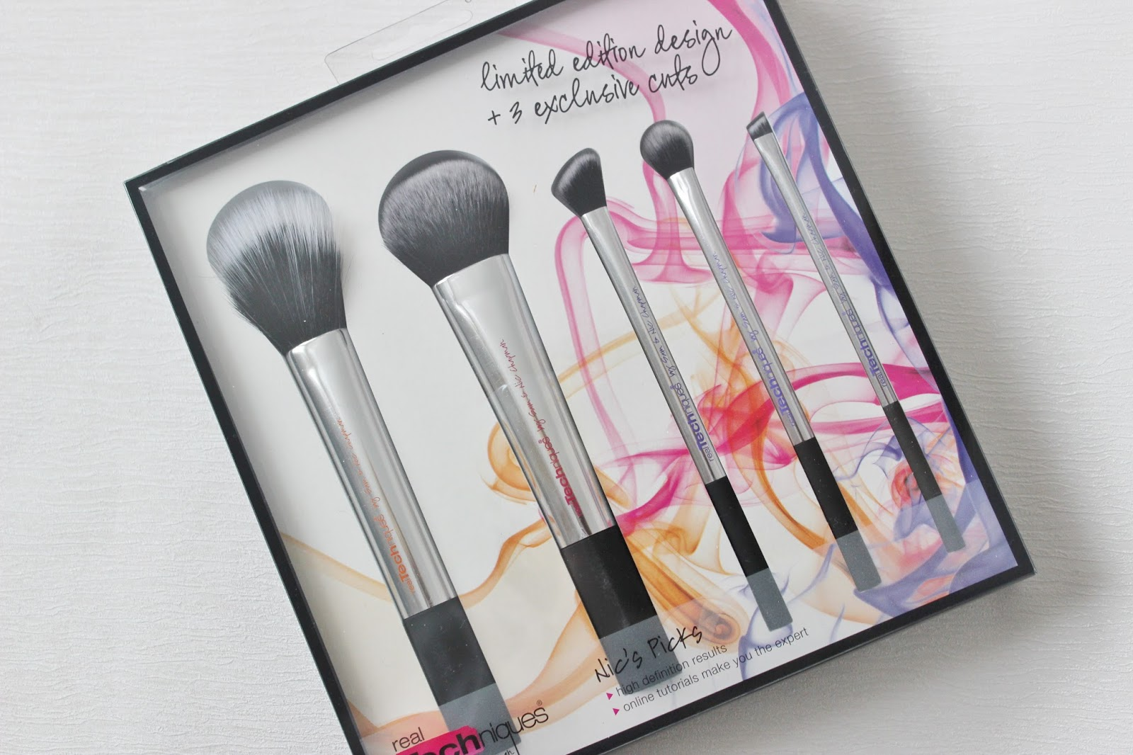 Real Techniques Nic's picks brush collection